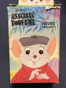 1990 McDonalds Happy Meal Rescuers Down Under Ornament Bernard in box $6.69
