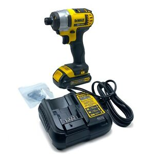 NEW DeWalt Drill Driver DCF885 Battery Charger amp; Battery 20V Max Lithium $140.00