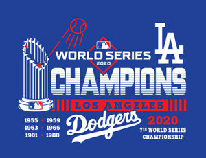 Los Angeles Dodgers 2020 World Series Champions shirt LA Champs Mookie Betts WS $20.00