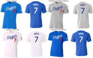 #7 Julio Urias Los Angeles Dodgers Slim Fit T Shirt Mens amp; Youth Sizes $18.99