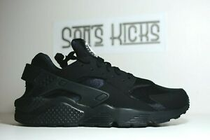 Mens Nike Air Huarache Triple Black Size 6 15 318429 003 $119.95