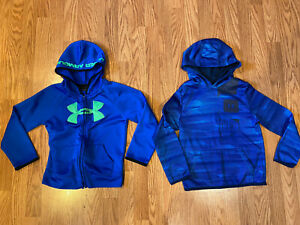 Boys Youth Under Armour Lot Hoodie Sweatshirt Size 7 Small EXCELLENT $35.00