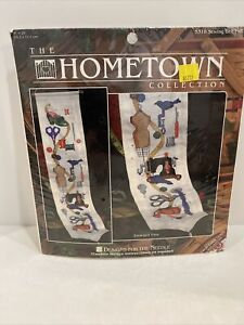 Designs For The Needle SEWING DESIGNS BELL PULL Stitchery Cross Stitch Kit New $9.99