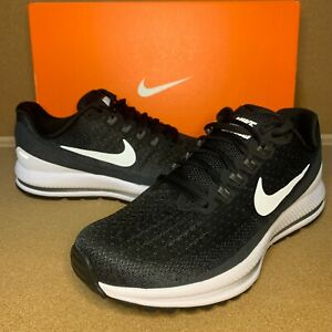 Womens Nike Air Zoom Vomero 13 Size 7 9 Black White Running Shoes 922909 001 $79.99
