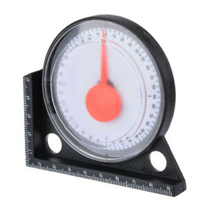 Slope Protractor Angle Finder Level Meter clinometer gauge with magnetic base $6.99