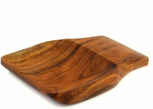 ACACIA Wood Spoon Rest Spoon Organiser Utensil Rest Keeper Perfect For Spatula