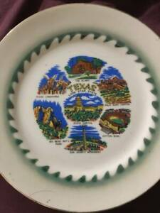 10 1 4 inch Texas Collectors Hanging Plate