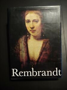 1968 REMBRANDT PAINTINGS HARDCOVER BOOK BY HORST GERSON 1st Edition $60.00