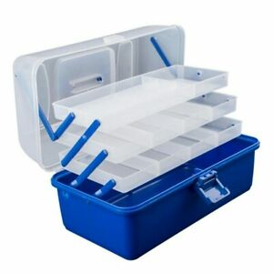 Portable Fishing Storage Case Tackle Box Plastic Waterproof equipment Fish Lure
