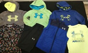 Boys Under Armour Lot of 7 YMD $58.99