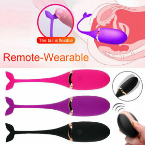 Remote Control Wearable Bullet Egg Vibrator G Spot Massager Adult Women Sex Toys $15.99