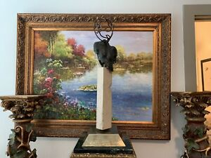 Unique Modern Bronze Abstract statue Very Different and Elegant $1700.00