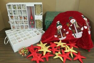 Christmas Tree Ornaments Holiday Decor Bundle Christmas in a Box 100 Ornaments