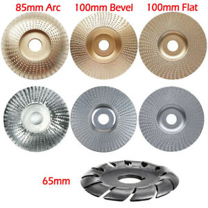 Carving Shaping Disc Carbide Wood Sanding For Angle Grinder Grinding Wheel Tool $9.97