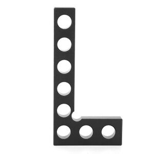 Woodworking 90 Degree Ruler Anodized Positioning Squares Marking Easy To Read $14.05