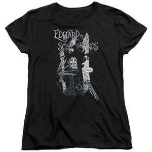 Edward Scissorhands Hello Women#x27;s T Shirt