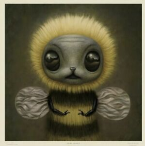MARK RYDEN Bee Limited Edition Lithograph sold out Signed 436 500 $900.00