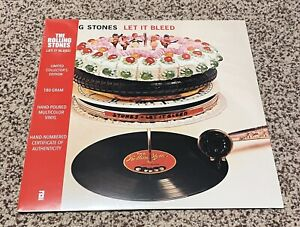 Rolling Stones Let It Bleed RSD In Hand Record Store Day Black Friday Out Of 900 $529.00