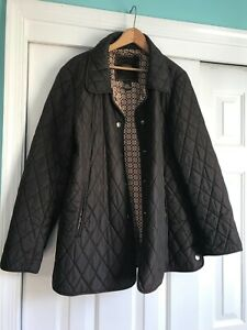 COACH signature womens#x27; brown jacket. Rare find.