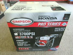 SIMPSON Pro Series Pressure Washer PS60982 $515.00