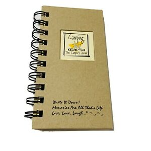 Camping The Camper's Journal Write It Down Memories Journal Unlimited NEW