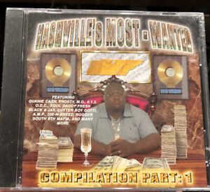 Various ‎– Nashville#x27;s Most Wanted Compilation Part $49.99