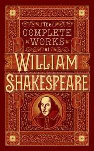 The Complete Works of William Shakespeare Hardcover GOOD