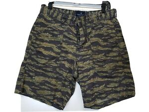 American Eagle Mens Camouflage Shorts Multicolored Size 29