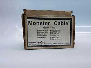 Monster Cable BMSGP 250 Twist on Angled Gold Pins $29.00