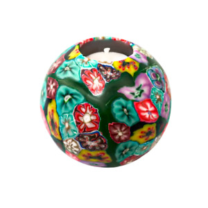 Green Flower Scented Handmade Candle Ball $39.90