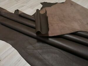 4 5 oz WARRIOR BROWN LEATHER HIDE COWHIDE SIDE 20 SQF MEDIUM SOFT PROMOTION