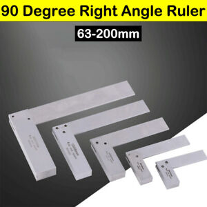 ANGLE SQUARE RULER 90 DEGREE 0 12 INCH 0 30cm 2 SIDED RIGHT ANGLE $12.68