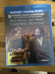 Good Will Hunting Blu ray New Sealed