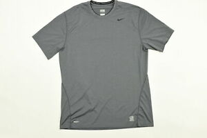 Nike XL Nike Fit Nike Pro Athletic Casual Short Sleeve Polyester $16.00