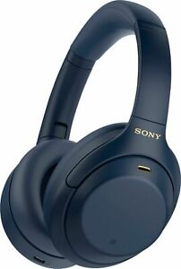 Sony WH 1000XM4 Wireless Noise Cancelling Over the Ear Headphones Midnight Blue $228.00