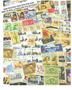 US MINT STAMPS FOR POSTAGE AT A DISCOUNT $23.20 For $18.00