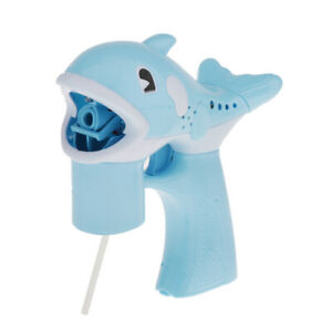 Cute Kids Machine Animal Dolphin Electric Music Blower Toys BlueDolphin $10.44