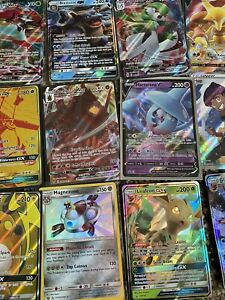 Pokemon 5 ULTRA RARE CARD LOT GX EX V VMax Full Art Secret Or Rainbow Rare $18.00