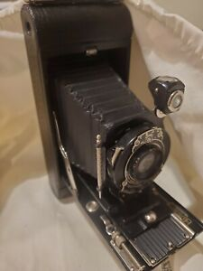 Kodak 1A Pocket Camera Antiquewith Leather and strap. Not tested. quot;As Isquot; $30.00