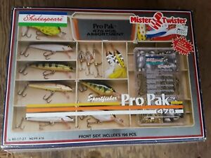 Freshwater LuresNew Sportsfisher Pro Pak 476pc Tackle BoxVintage Lures