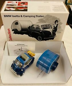 BMW Isetta amp; Camping Trailer BMW Dealer Promo Collection by Revell 1 18 Rare.