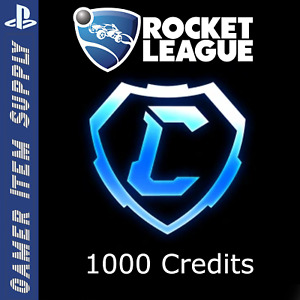 PS4 Rocket League 1000 x Credits Fast Delivery Cheap $8.79
