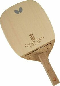 BUTTERFLY Table Tennis Paddle G MAX S Cypress Racket Kiso Hinoki Veneer NEW $275.66