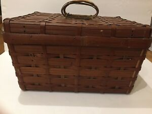 Rare Old Woven Antique Basket $39.88