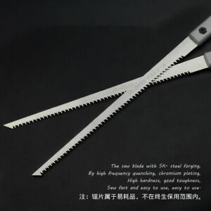 230mm Landscaping Hand Saw Quick Cutting Home Gardening Logging Woodworking Tool C $16.04