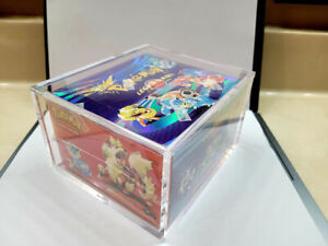 Pokemon Booster Box Protective *MAGNETIC* Display Case Fits WOTC $70.00