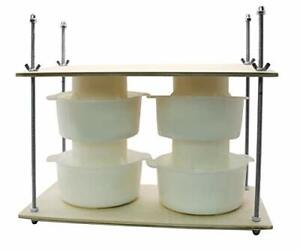Сheese Making Kit 16 in Metal Guides 13 in Cheese Press 4 Cheese Making mol... $66.39