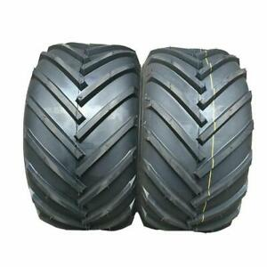 13x5.00 6 SW:4.646in 4PR Tubeless Tires Rototiller new pair of wheels $43.83