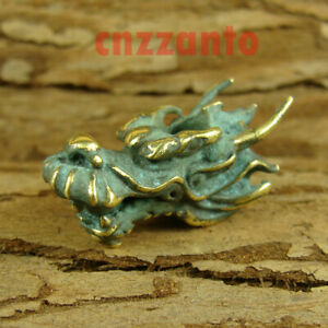 Brass Patination  Dragon head  Paracord Bead Lanyard Beads for EDC gear LB390 $12.99