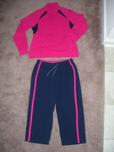 C9 by Champion Target Track Jogging Fitness Suit Womens Pullover M Pants L $18.50